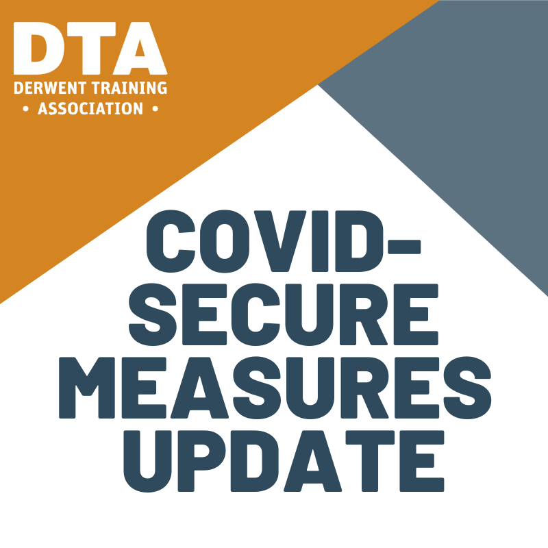 COVID-Secure Measures Update - November 2020