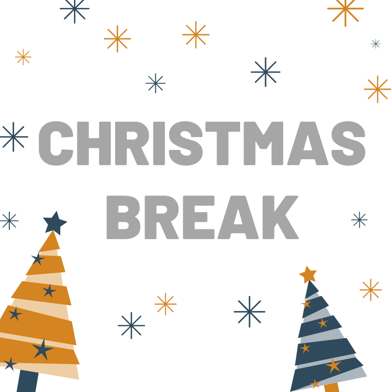 Christmas Break - Message from Chief Executive Officer