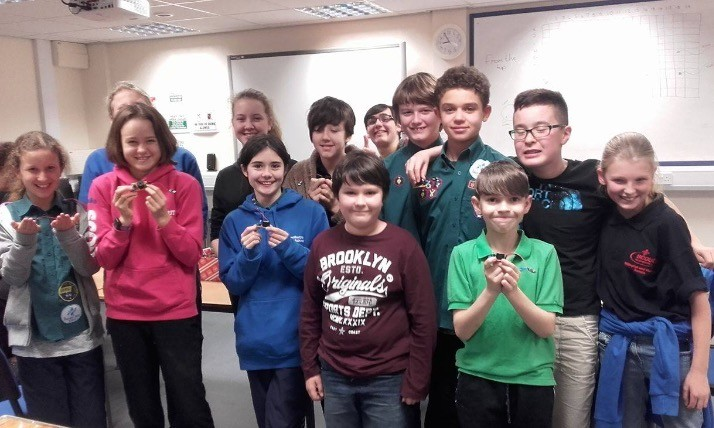 Congratulations to Rillington Scouts for gaining electronics badge.