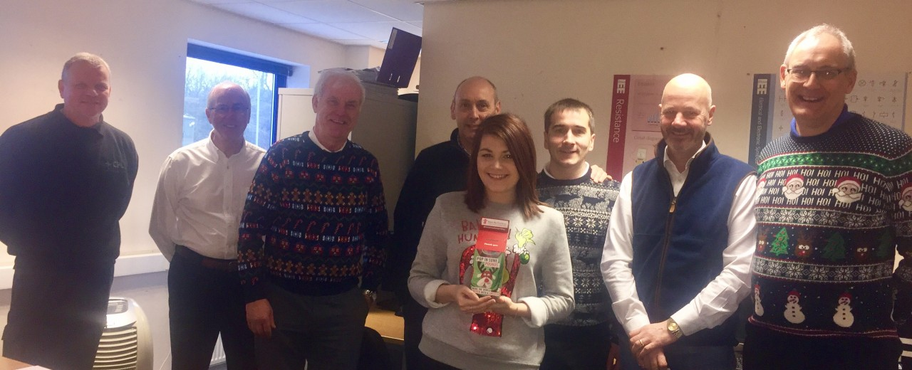 DTA celebrates Christmas Jumper Day