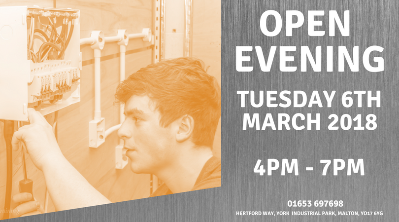 Apprentice Open Evening - Tuesday 6th March