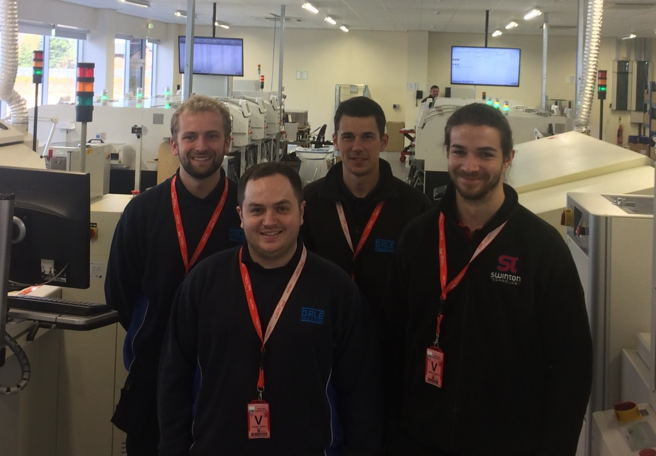 HND students visit Deep Sea Electronics