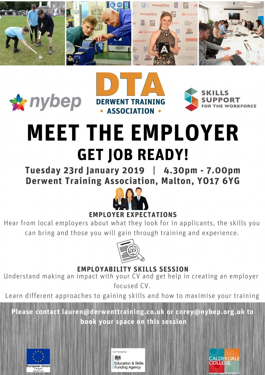 Meet the Employer Session