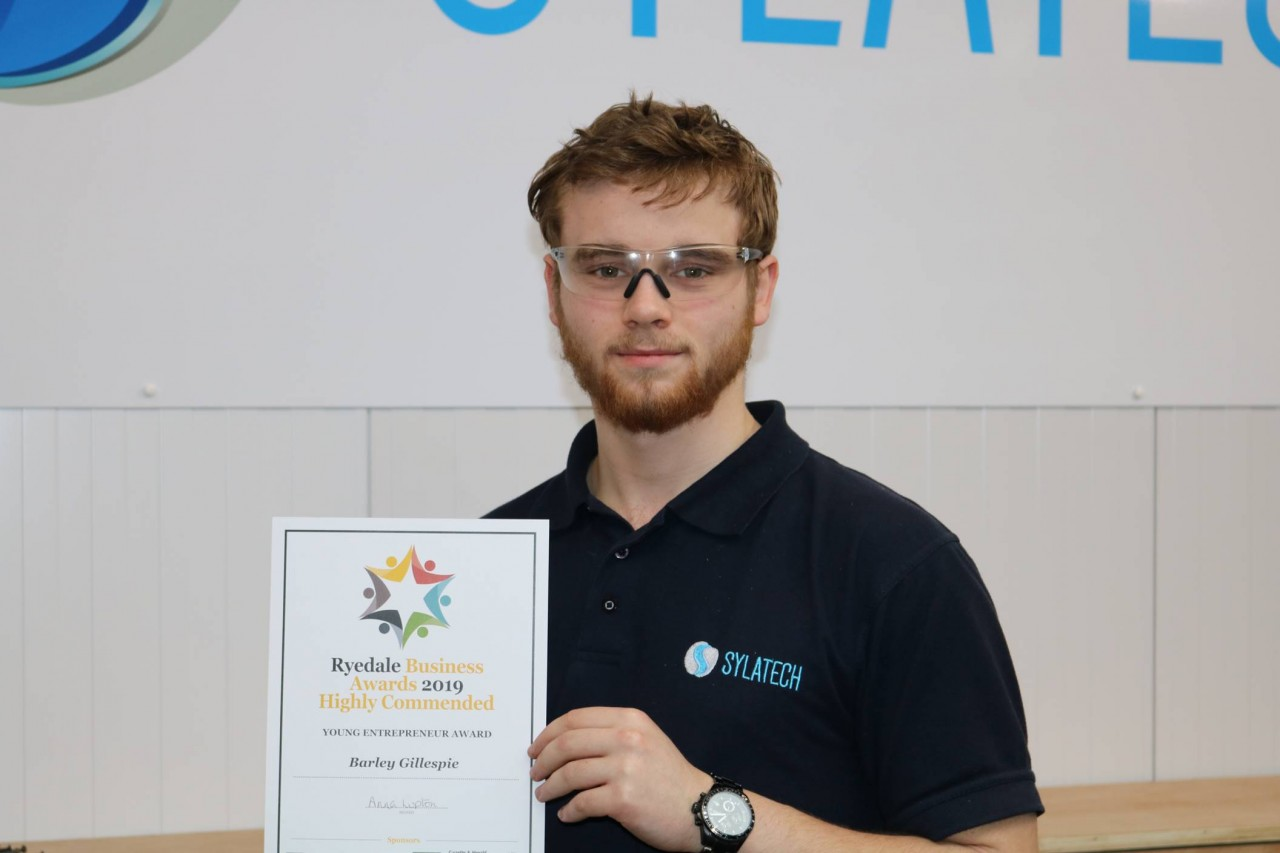 Sylatech Apprentice wins Highly Commended Young Apprentice Award