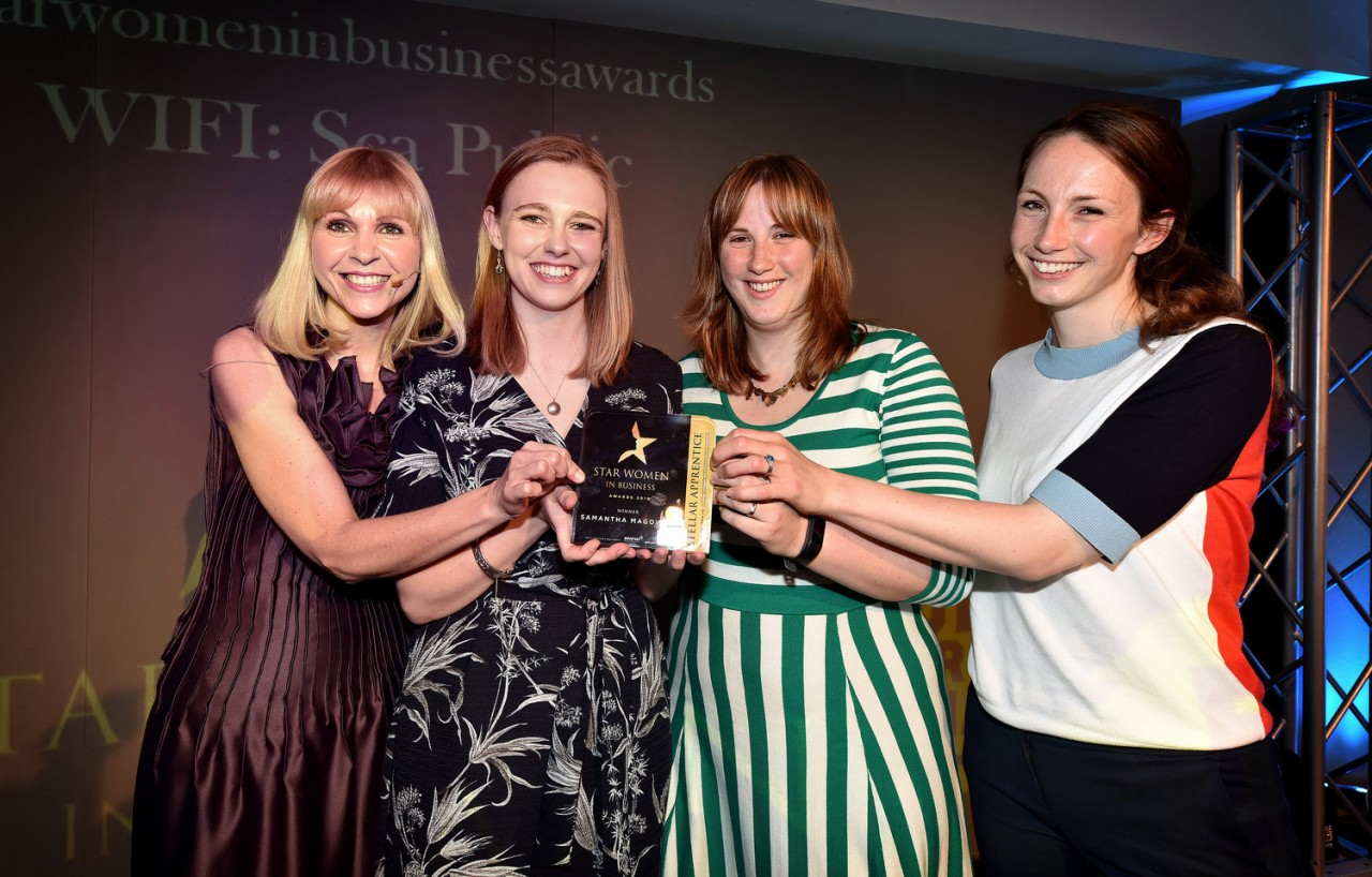 Apprentice win at Star Women in Business Awards