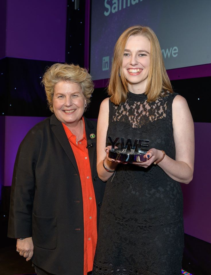 Apprentice wins national Women in Engineering Award